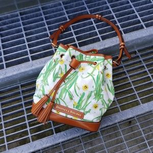 Dooney & Burke Daffodil Bucket Handbag